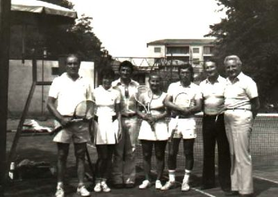 Anni 70, torneo di doppio misto
